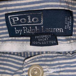 Men's Polo Ralph Lauren Seersucker Prospect Shorts